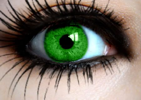 Green Colored Contacts