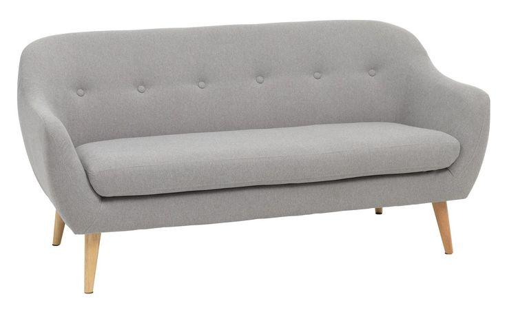 Sohva 2.5 hengen EGEDAL vaaleanharmaa | JYSK