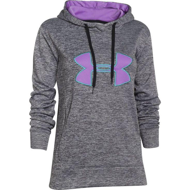 New Under Armour Women's UA Big Logo Applique Twist Hoodie 1257682 #UnderArmour #Hoodie
