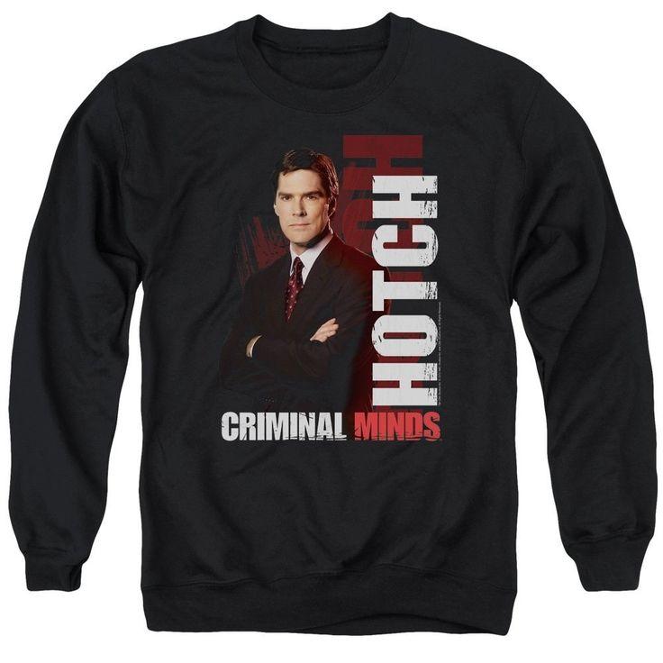 Criminal Minds - Hotch Adult Crewneck Sweatshirt
