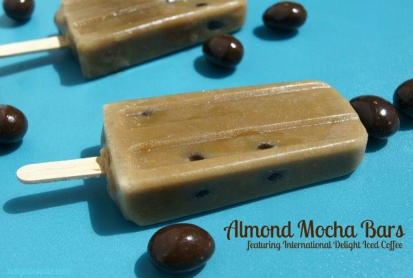 Recipe: Almond Mocha Bars | {Not Quite} Susie Homemaker: Recipes Blog, Mocha Bar, Indelight Recipes, Frozen Recipes