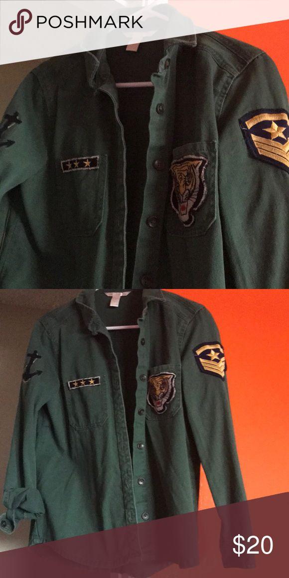 I just added this listing on Poshmark: Forever 21 Military style shirt. #shopmycloset #poshmark #fashion #shopping #style #forsale #Forever 21 #Tops