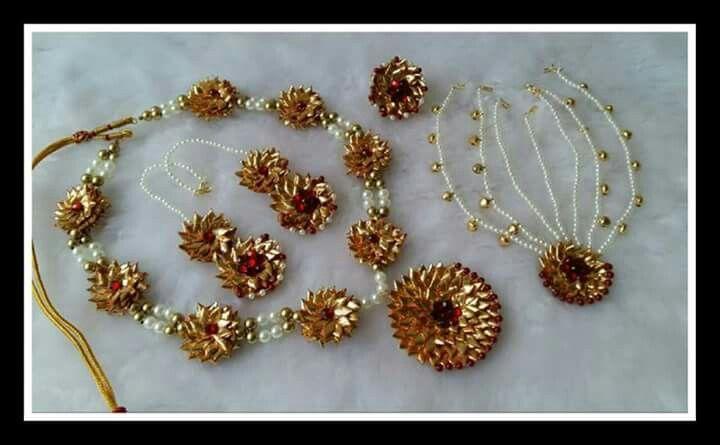 Gota Patti jewelry