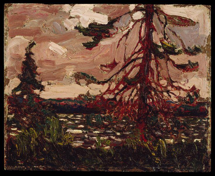 Tom Thomson Catalogue Raisonné | Ragged Pine, Spring 1916 (1916.86) | Catalogue entry