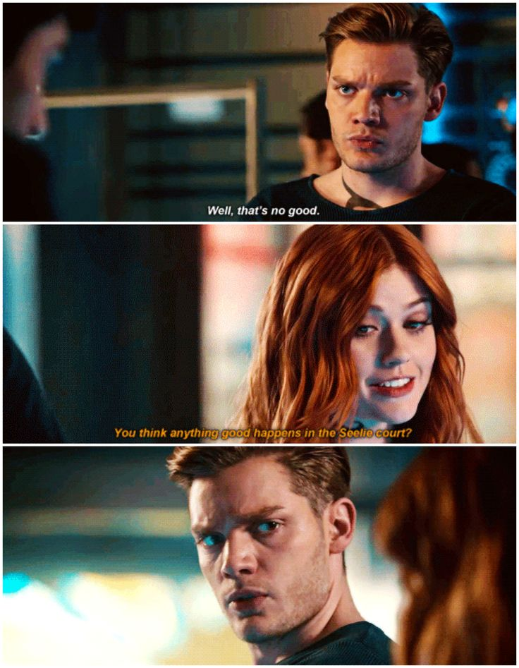 "#Shadowhunters 2x15 ""A Problem of Memory"" - Clary and Jace"