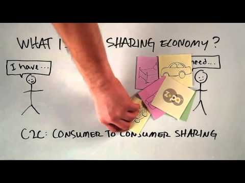 """What is the """"Sharing Economy""""?"""