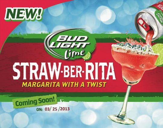 A-B Unleashes the Straw-Ber-Rita on Unwitting Drinkers - Gut Check