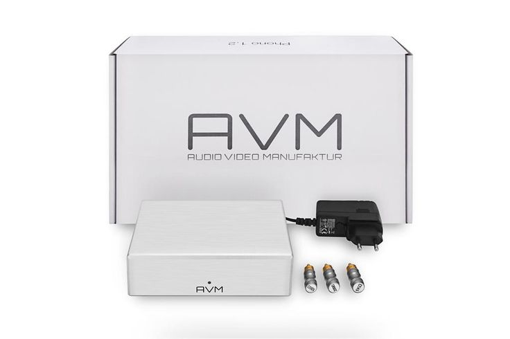 Brand new AVM P1.2 phono stage. Fantastic sound & excellent built quality at a very affordable price #turntableism