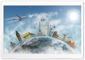 Travel the World HD Wide Wallpaper for Widescreen