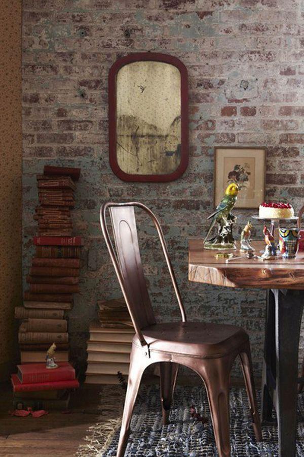 Cuando el ladrillo se convierte en protagonista http://www.singularmarket.com/blog/ideas-pared-ladrillo-visto/#