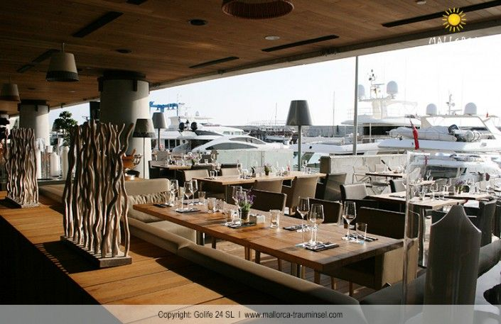 Harbour Grill in Port Adriano