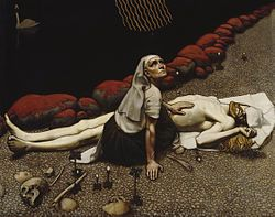Akseli Gallen Kallela, Lemminkäisen äiti, 1897