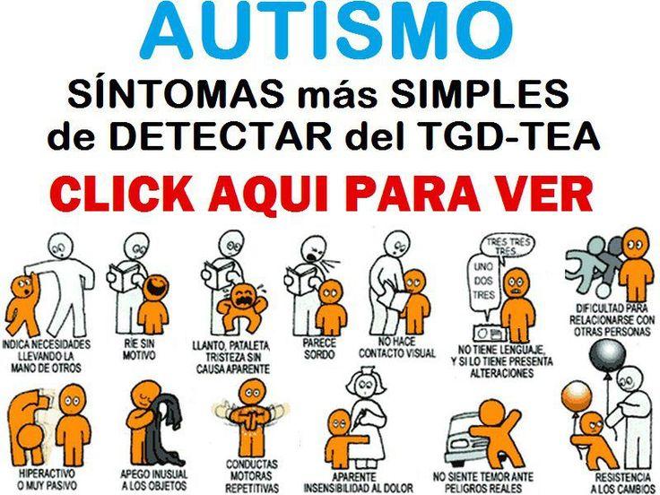 Sintomas para detectar Autismo