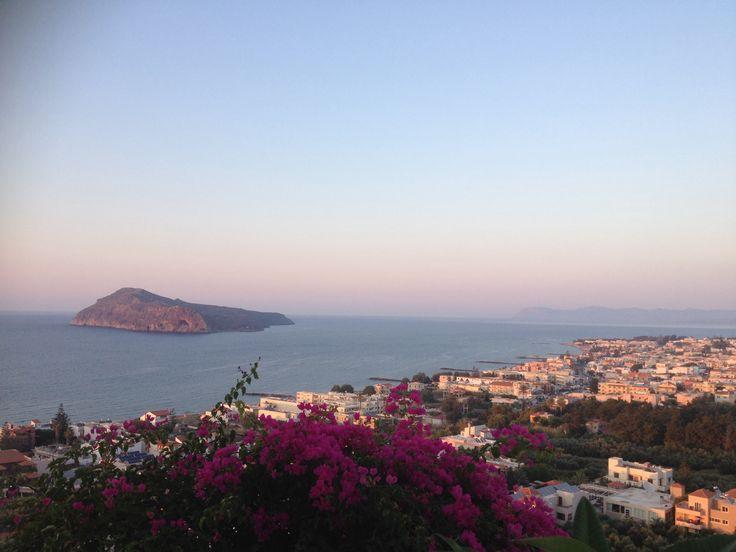 Platanias in Crete! Beautiful
