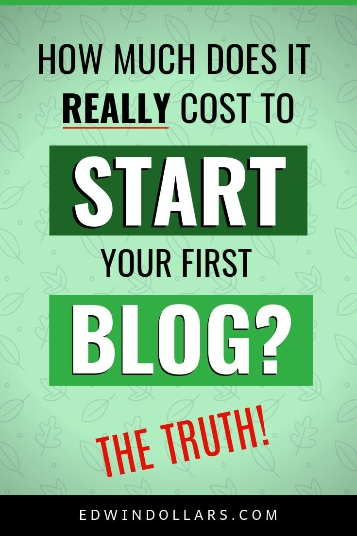 141d11e9f502 How Much Does It Cost To Start A Blog  The Truth!