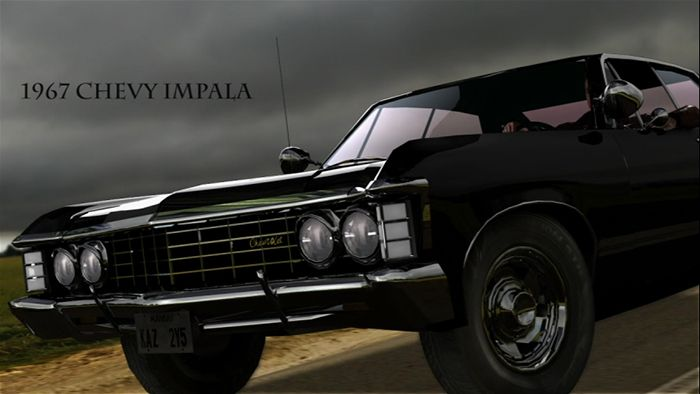 supernatural car impala wallpaper - photo #28