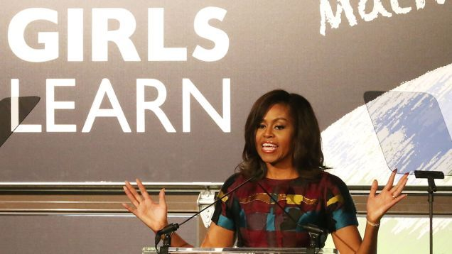 "LIVE!  ""Watch Michelle Obama's SXSW Chat With Missy Elliott, Queen Latifah, Promoting Education for Girls"""