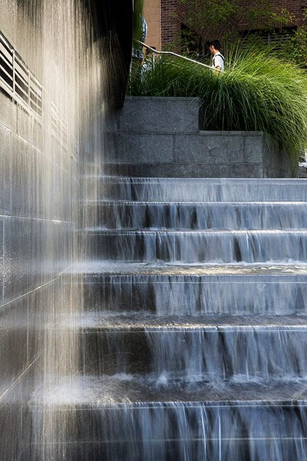 1000 images about water feature on pinterest gardens for Urban waterfall design
