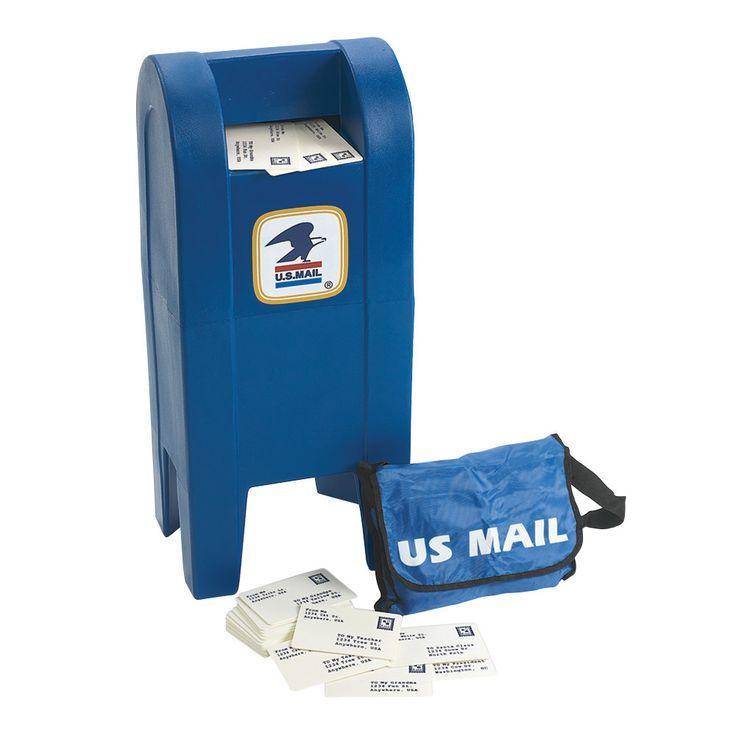 Angeles Kids Mailbox Play Set & My Mail Bag Set