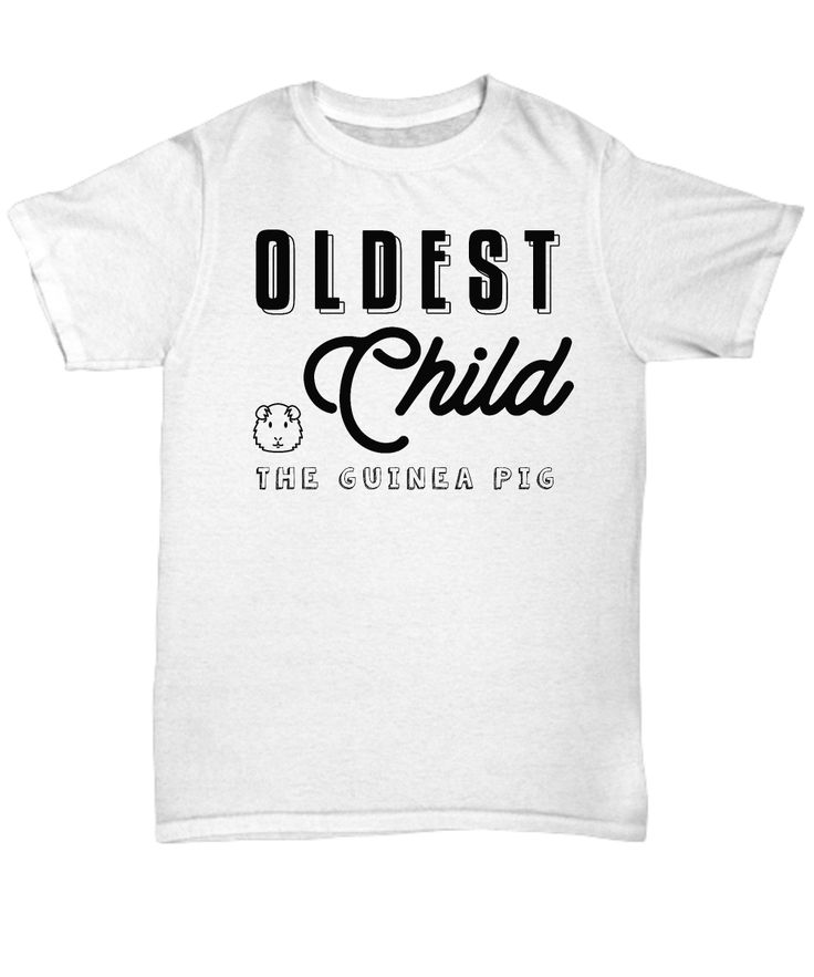 """Get your awesome oldest child this funny """"Oldest Child The Guinea Pig"""" item for his/her special day!"""