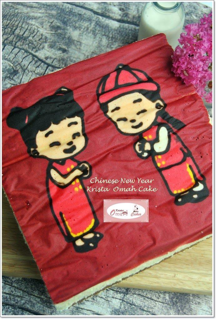 KRISTA MOCAF KITCHEN: Chinese New Year Cake