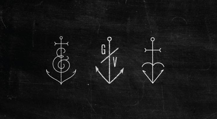 The third anchor symbolizes faith love and hope, a cross a heart and an anchor(want it)