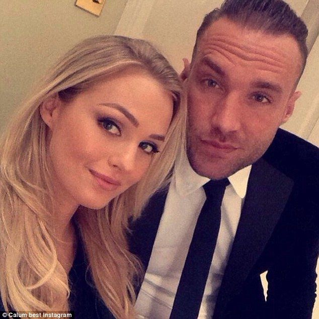 Calum Best denies cheating on girlfriend #dailymail