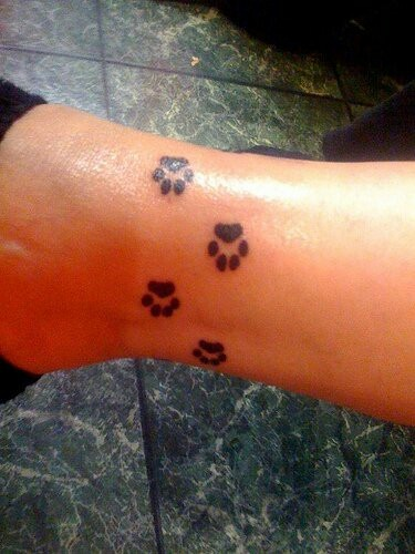 Paw tattoos