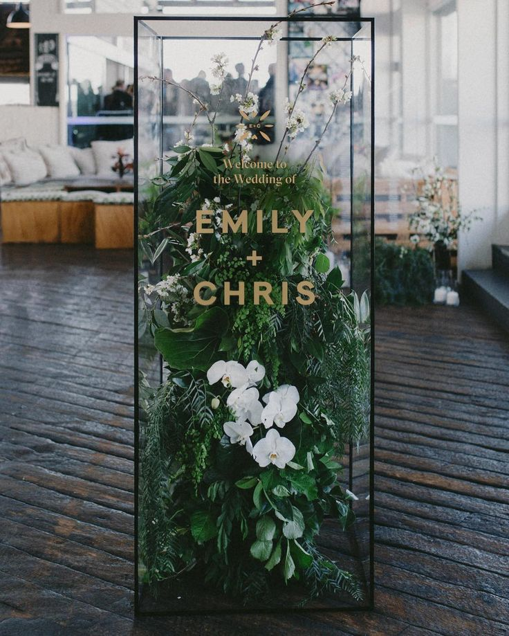 "65 Likes, 18 Comments - Jem&I (@jem_and_i) on Instagram: ""First impressions count 🌿 - feature entrance signage for Em & Chris's incredible day #jemandi…"""