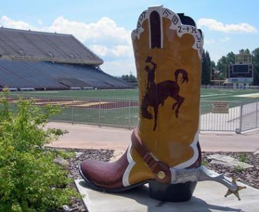 University of Wyoming. #GoWyoCowboys