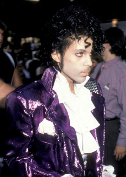 Prince's 15 Most Iconic Purple Outfits - July 26, 1984 - from InStyle.com