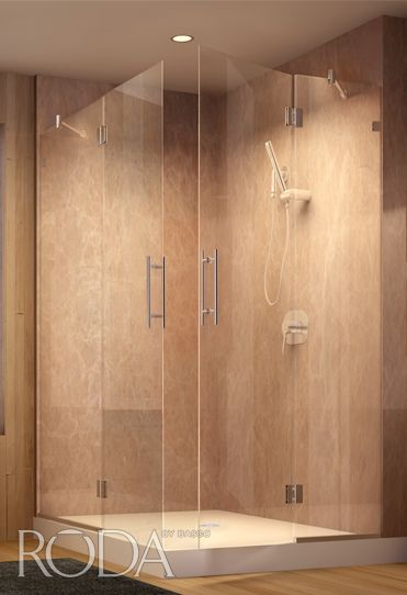 Roda by Basco. Glass shower doors - Dresden (Style Name). & 22 best Basco Shower Doors images on Pinterest | Shower doors ...