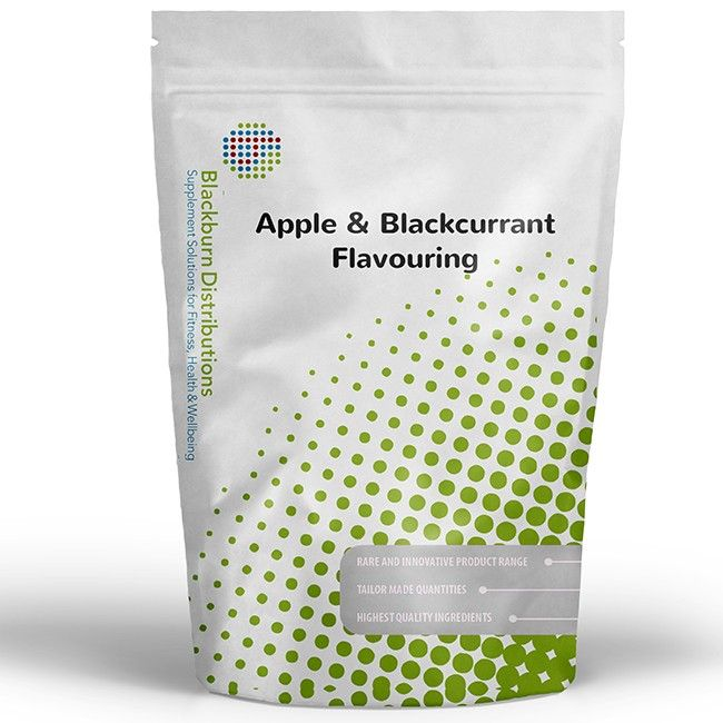 Apple & Blackcurrant  Flavouring  provides a sweet ripe apple and blackcurrant flavour.  http://www.blackburndistributions.com/apple-and-blackcurrant-flavouring.html