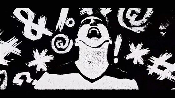 Western Civilization : An animated poem about a man with a car in a desert. Directed by Alicia Reece.