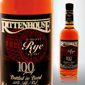 Rittenhouse Rye Whiskey.  I have developed a minor obsession with Manhattan cocktails of late, and the right Rye is arguably the most important ingredient.  Manhattans made with Rittenhouse 100 Proof Rye are the best that I have made so far.  I have paid twice as much for a twelve year old Rye Whisky that is not as good.  This has a great flavor and even at 100 proof, it can still be enjoyed straight.  For the money, it is hard to go wrong with this one.