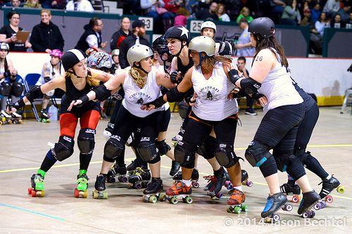 I like this  Cincinnati Rollergirls Violent Lambs vs. Brandywine Roller Girls Brawlers, 2014-03-08 - 107 / http://www.dancamacho.com/cincinnati-rollergirls-violent-lambs-vs-brandywine-roller-girls-brawlers-2014-03-08-107/