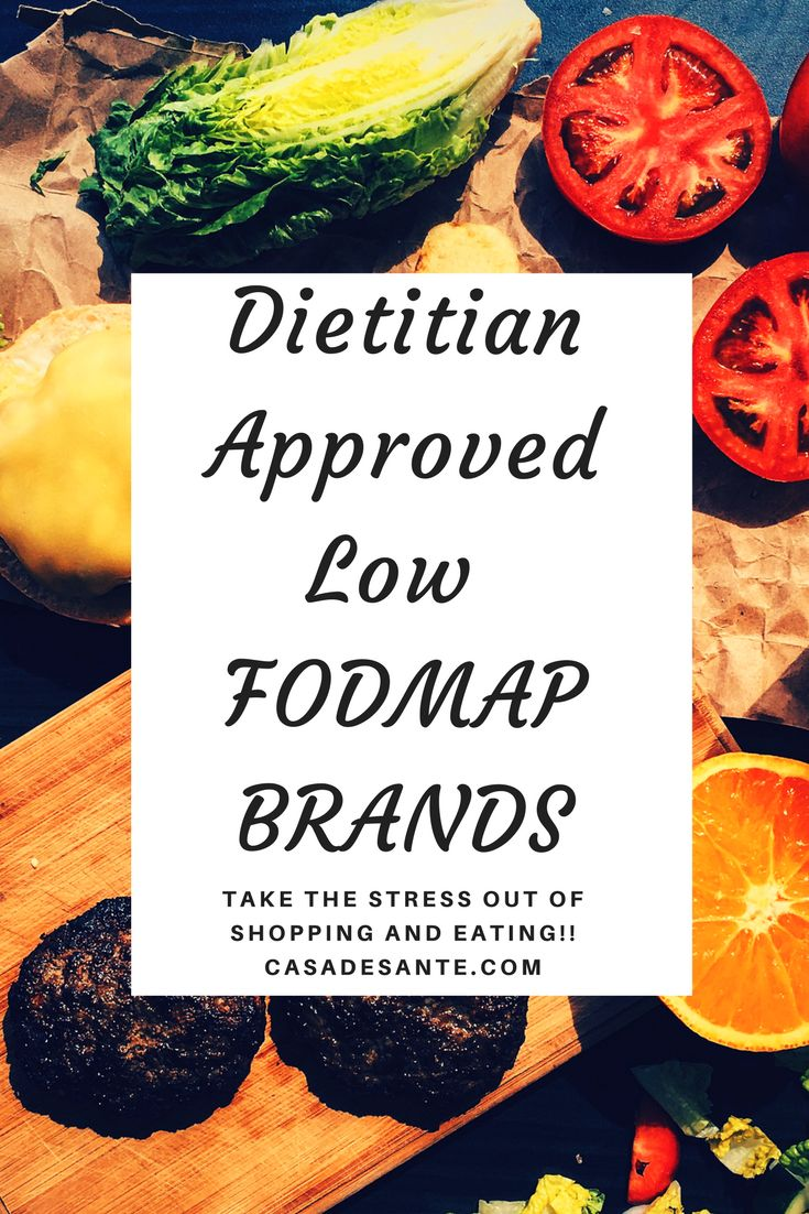 Low FODMAP Brand Grocery Lists for Snacks, Sauces, Soup, Spices, Salad Dressings and More!