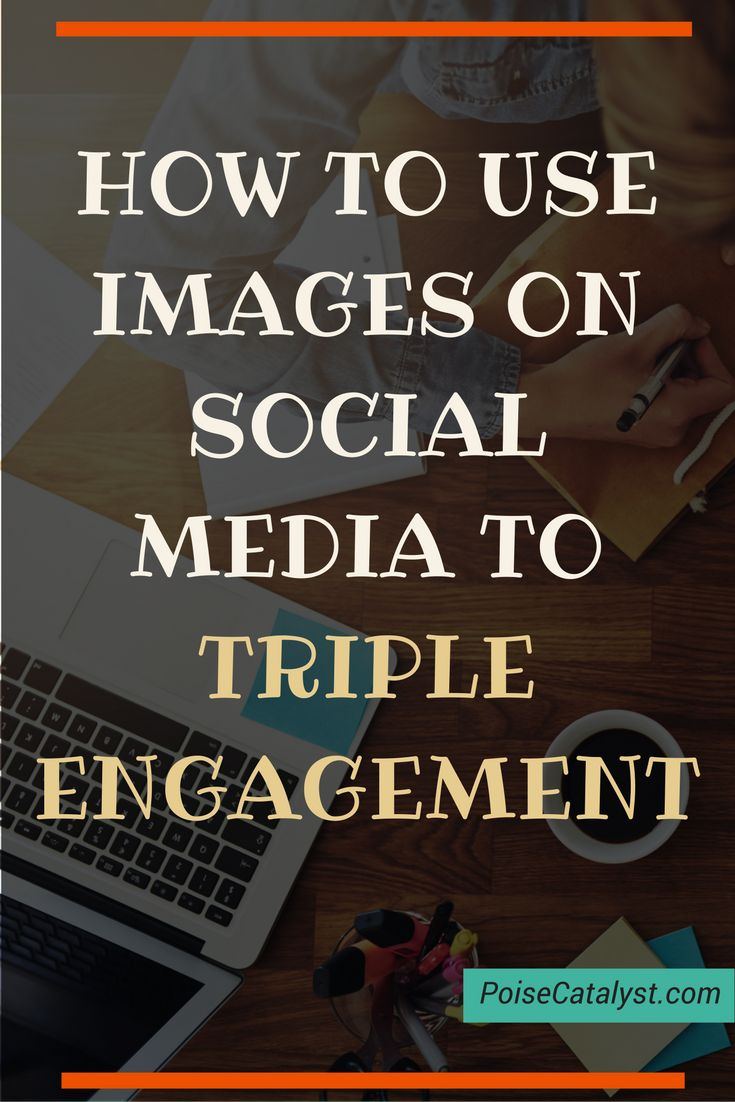 How to use images on social media to triple engagement. Click through for a quick video tutorial!