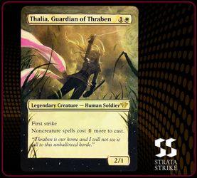 Thalia, Guardian of Thraben Alters & Art - www.StrataStrike.com