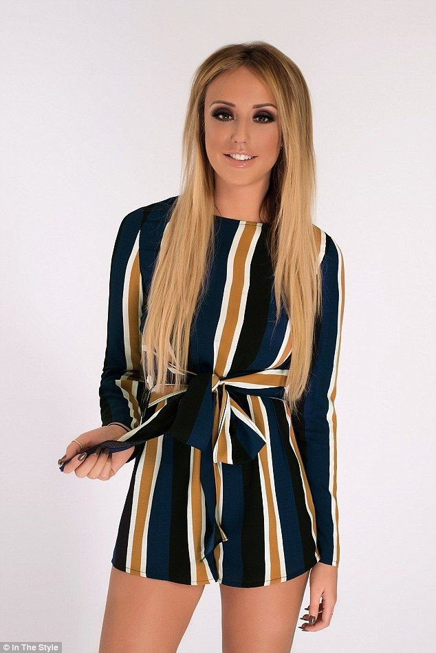 Despite displaying her trim figure in her latest designs for In The Style, Charlotte maint...