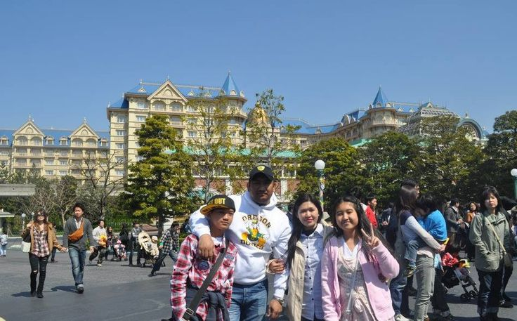 My family's vacation in Tokyo Japan. We visited Disney Land.