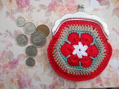 knutsel-mam: Afrikaanse bloemen/portemoneetje - AFRICAN FLOWER