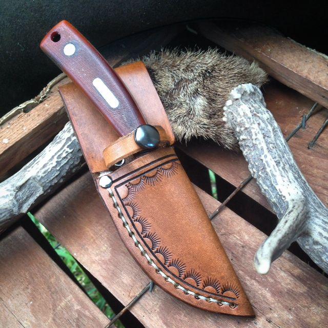 Custom Knife Sheath on sale at Western Dry Goods.com.
