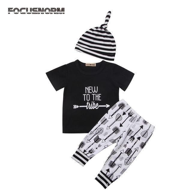 2Pcs Toddler Infant Baby Boy Girl Floral Tops Sweat à Capuche Pantalons Tenues Ensemble Vêtements