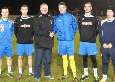Contracts given to Sam Mulready, Chris Ward, Gary Setchell, Dan Quigley, Ryan Fryatt and George Thomson. Picture: TIm Smith