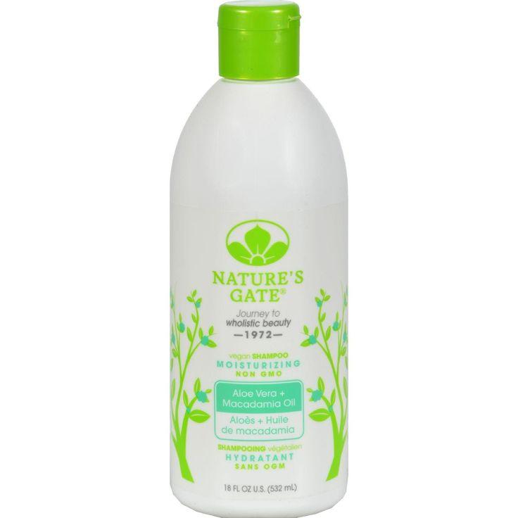 Nature's Gate Moisturizing Shampoo Aloe Vera - 18 Fl Oz