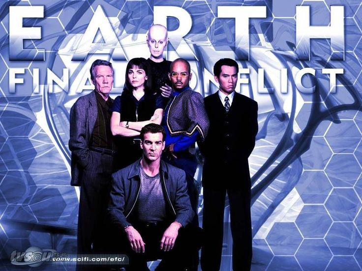 Posted by SF Series and Movies  Earth Final Conflict-Original cast