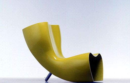 Felt chair, by Marc Newson for Cappellini, 1989.