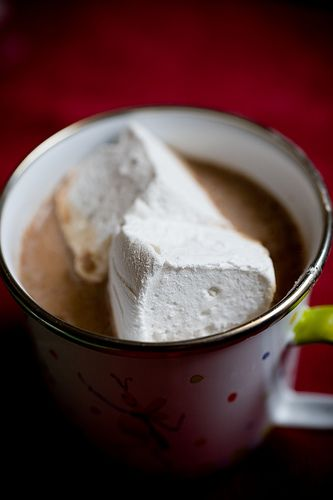 homemade marshmallow - pieces of heaven