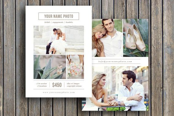 Photography+Flyer+Design++Photoshop+by+designbybittersweet+on+Etsy,+$15.00